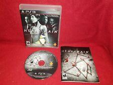 Heavy Rain (Sony PlayStation 3 PS3, 2010)