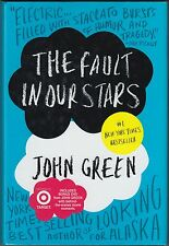 The Fault in Our Stars by John Green (2014) HC/DJ W/BONUS DVD, AUTHOR INTERVIEW