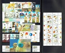 @SALE! Israel 2002 MNH Tabs & Sheets Complete Year Set