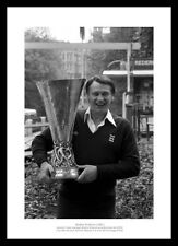 Bobby Robson with 1981 UEFA Cup Ipswich Town Photo Memorabilia (056)