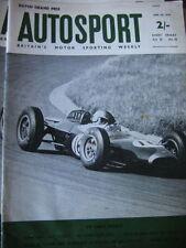 Autosport June 28th 1963 *Dutch Grand Prix & The Monocoque BRM*