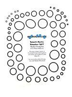 Smart Parts Shocker SFT Paintball Marker O-ring Oring Kit x 4 rebuilds / kits