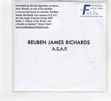 (HF320) Reuben James Richards, A.S.A.P. - 2016 DJ CD