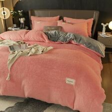 textiles 1piece flannel duvet cover soft and warm coral fleece blanket winter