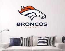 Denver Broncos Wall Decal Sports Football Sticker Vinyl Decor Many sizes NFL