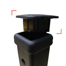 "Rubber Car 1-1/4"" Trailer Hitch Receiver Cover Cap Plug Auto Black Accessories"