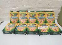 10 Boxes Crayola Crayons - 24 Crayons per Box - NIB