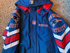 New England Patriots Vintage 90s Starter Jacket Size Large