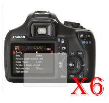 6 PZ PELLICOLA PROTEZIONE DISPLAY PER Canon EOS 1100D PROTEGGI SCHERMO LCD -