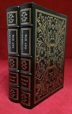 Easton Press Leather 2 Volume Set Herman Wouk War and Remembrance