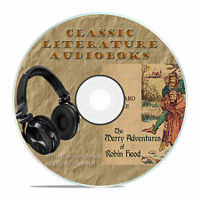 MERRY ADVENTURES OF ROBIN HOOD, HOWARD PYLE MP3 CLASSIC AUDIOBOOK LITERATURE-A37