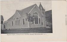 RICHMOND HILL BAPTIST CHURCH, CORNER FULTON & ELM, QUEENS LONG ISLAND NYC