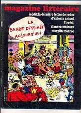 Magazine Littéraire 95 dossier La bande dessinée aujourd'hui, Monroe Artaud 1974
