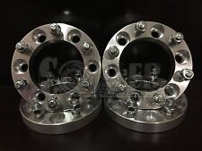 "4 X 1"" inch 6x5.5 Wheel Spacer Adapter 25mm 12x1.5 Studs 6 lug billet 6x139.7"