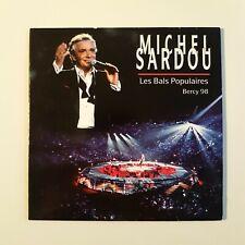 MICHEL SARDOU : LES BALS POPULAIRES (à BERCY) ♦ PROMO CD RTL ♦