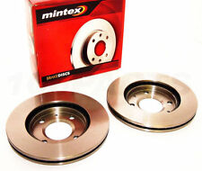 Pair of Brake Discs For Honda Accord  Mintex MDC820