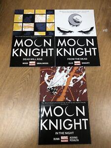 Moon Knight Collection TPB vol. 1 2 3 Wood Ellis Bunn Marvel Comics Dead Rise