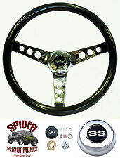 """1967 Camaro steering wheel SS GLOSSY GRIP 13 1/2"""" Grant steering wheel"""