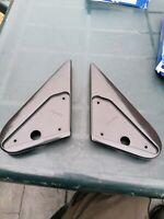 Black paintable M3 m5 dtm mountney  DOOR MIRROR Base plates PEUGEOT 306 91-97