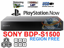Sony BDP-S1500 Region free Blu Ray player Multi region bluray Smart A B C & 0-8