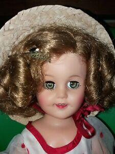 Darling 1970s Shirley Temple Doll Ideal Vintage Vinyl Doll