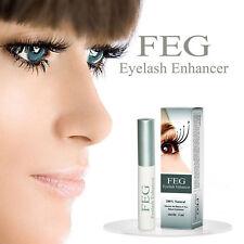 3ml FEG Eyelash Enhancer Eye Lash Rapid Growth Serum Liquid 100% Natural New