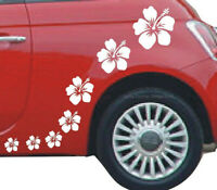 Wandtattoo Hibiskus /& Schmetterling Aufkleber Blumen Wall Art Wand Tattoo #2012