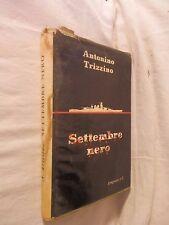 SETTEMBRE NERO Antonino Trizzino Longanesi 1956 libro di scritto da per saggio