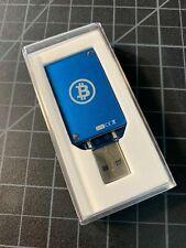 ASIC Miner Block Erupter Bitcoin Miner USB Stick 330 MH/s Rev 3.00 Blue Color