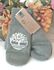 Timberland Women's Gray Lined Warm Mittens New!