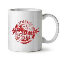 Sportware Tiger NEW White Tea Coffee Mug 11 oz | Wellcoda