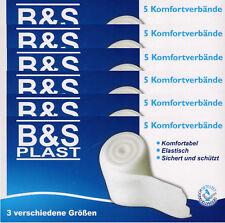 30 Stück Mullbinde Mullbinden Fixierbinden Verbandsmaterial elastisch 3 Größen