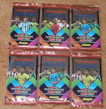 Adrenalyn Copa America Chile 2015 lot of 6 new and sealed booster packs !!