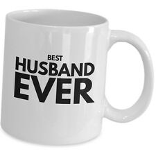 Best Husband Ever Coffee Mug Gift for Him His Cute Anniversary Couple Wedding US
