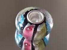 CANDY MOMENTS - Murano Glass Silver Plated Charm Bead
