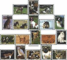 Sao Tome e Principe 1548-1565 (kompl.Ausg.) gestempelt 1995 Hunde und Katzen