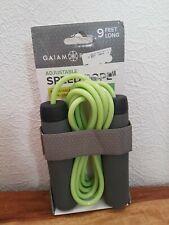 Gaiam Adjustable Speed Rope Length 9 Feet Long Cushion Handles New