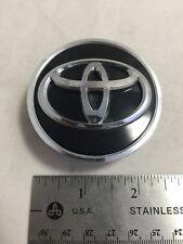 Toyota Corolla Venza Sienna Avalon Wheel Center Hubcap 62mm Cap OE Black Chrome