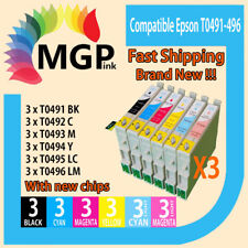 18x Compatible Ink for Epson Stylus Photo R210 R230 R310 R350 RX510