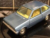 Vintage Ford Fiesta  Pilan Dinky Spain Mint Model 627 Unboxed Blue