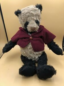 Ganz Cottage Collectibles Yes No Bear Plush Soft Stuffed Toy Doll Lorraine 1998
