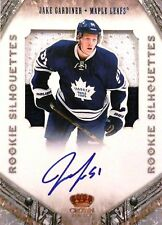 11-12 crown rookie silhouette jake gardiner leafs patch autograph auto 88/99