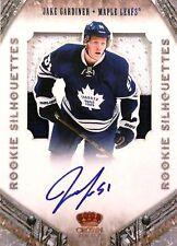 11-12 crown rookie silhouette jake gardiner leafs patch autograph auto 88/99