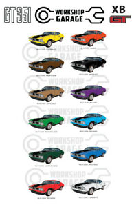 Ford XB GT 351 V8 - COUPE - Sticka