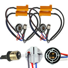 2pcs 1157 2357 No Error Hyper Flash Fix Wiring Adapter For LED Turn Signal Light