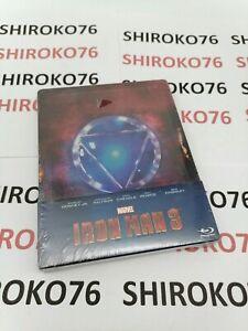 Iron Man 3 [Limited Edition SteelBook] (Blu-ray, 2013) - European Import