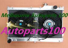 52MM ALUMINUM RADIATOR + Fans for MAZDA MIATA MX5 MX-5 1.6L 1.8L 1990-1997 MT