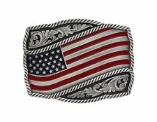 Silver Flags & Political Belt Buckles for Men