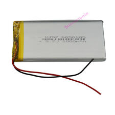 3.7V 3000 mAh Polymer Li Lithium cell li-po For GPS ipod PSP Tablet PC  6050105
