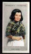 Tobacco Card, Franklyn Davey, CHILDREN OF ALL NATIONS, 1934, Ireland, #21